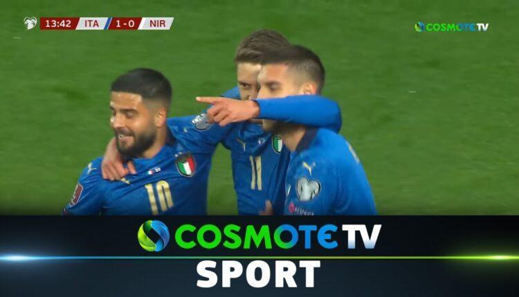 Με νίκη 2-0 ξεκίνησε η Ιταλία κόντρα στην Β. Ιρλανδία (VIDEO)