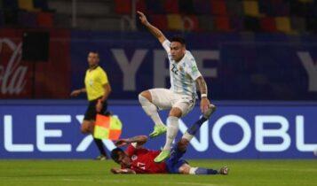 «Γκέλα» της Αργεντινής με τη Χιλή